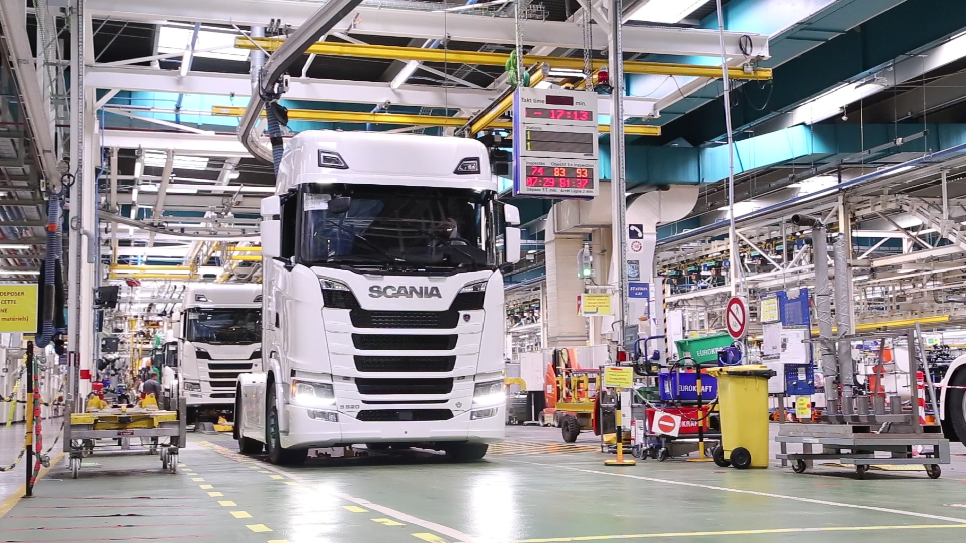 Usine de production Scania Angers