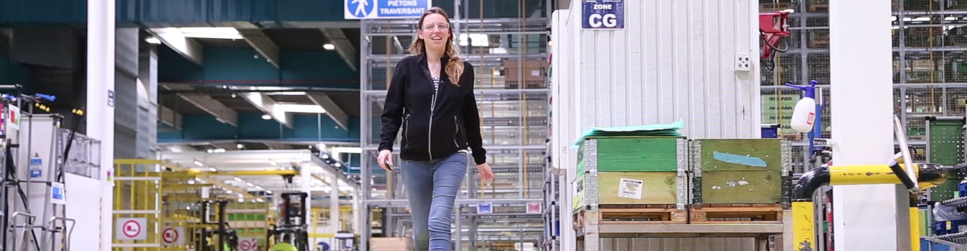 Camille, team leader serrage chez Scania Production Angers