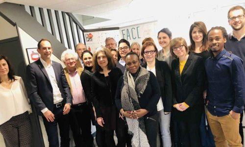 Article paru dans Ouest France, le 26 février, au sujet des Clubs de l'Emploi de l'ALDEV et des simulations d'entretien de recrutement auxquelles participent les entreprises de FACE Angers Loire