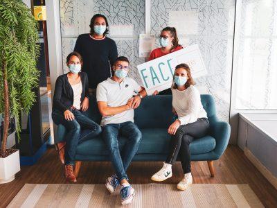 L'équipe de FACE Angers Loire 2020